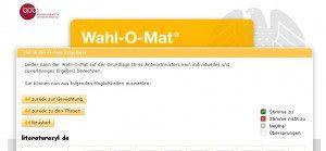 Wahl-O-Mat Bundestagswahl 2009