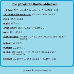 IP Adresse ändern
