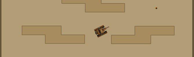 Ein Screenshot aus dem Spiel Micro Tanks
