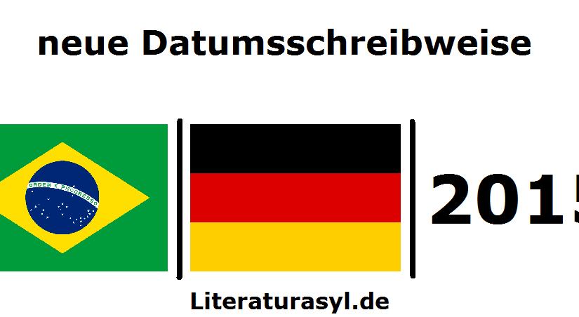zukünftige Schreibweise für den 1. Juli in Deutschland