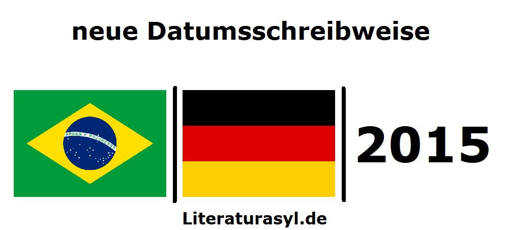 neue Datumsschreibweise in Deutschland