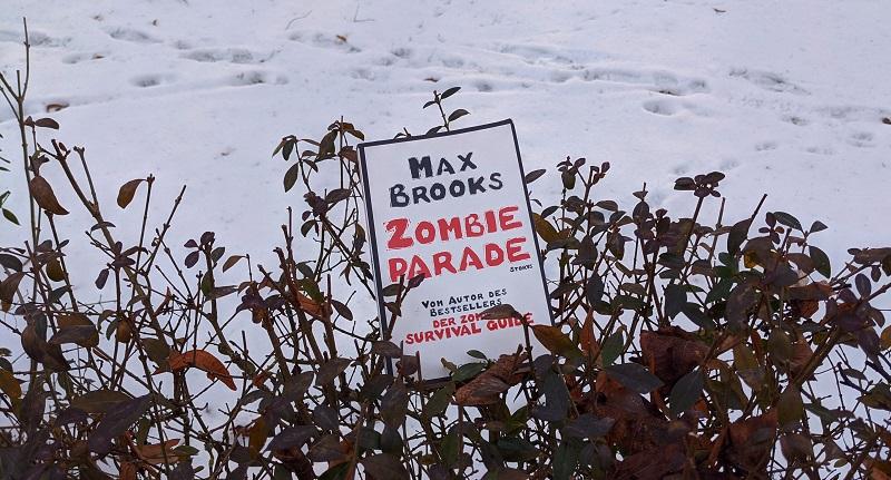 Zombieparade im Schnee
